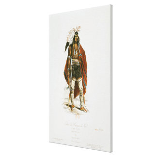 North American Indian Stretched Canvas Prints