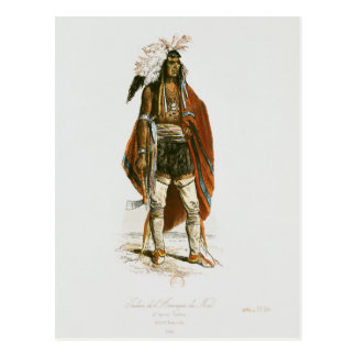 North American Indian Postcard