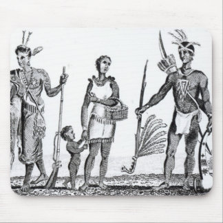 North American Indians Mouse Mat