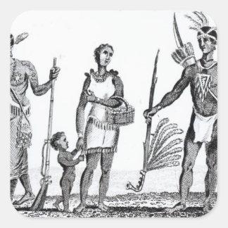 North American Indians Sticker