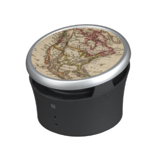 North American Map 2 Bluetooth Speaker