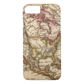 North American Map 2 iPhone 8/7 Case