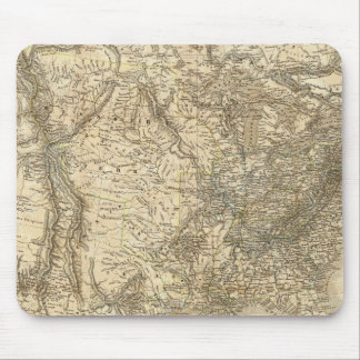 North American Map Mouse Mat
