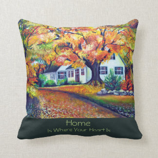 North American Mesmerizing Fall Landscape Cushion