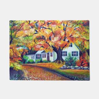North American Mesmerizing Fall Landscape Doormat