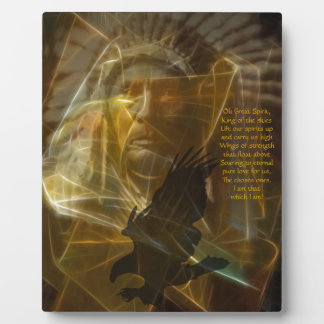 North American Native Indian Prayer Display Plaques