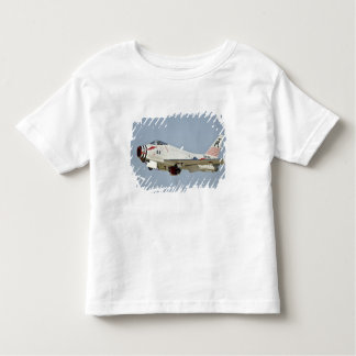 North American Naval FJ2 Fury Jet Fighter flying Toddler T-Shirt