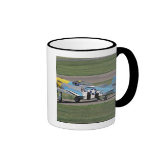 North American P-51 D Dazzling Donna on the Mugs