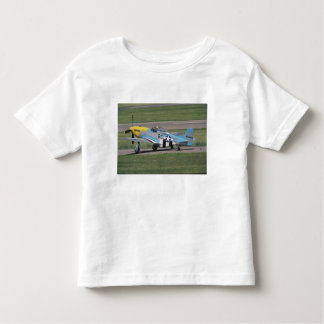 North American P-51 D Dazzling Donna on the Shirt