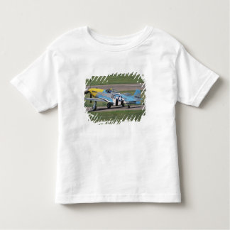 North American P-51 D Dazzling Donna on the Tshirts