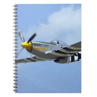 North American P-51D Mustang, Little Horse Notebook