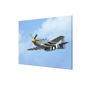 North American P-51D Mustang, Little Horse Stretched Canvas Prints