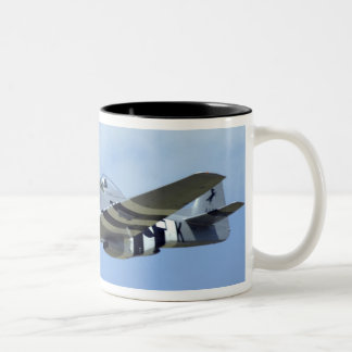 North American P-51D Mustang, Little Horse Two-Tone Coffee Mug