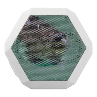 North American River Otter White Boombot Rex Bluetooth Speaker