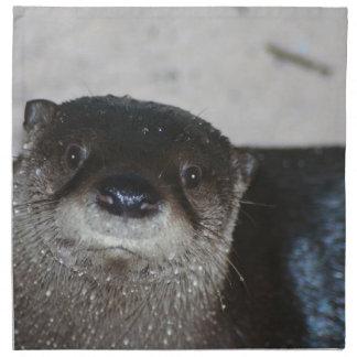 North American River Otter Cloth Napkin