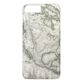 North American Rivers and Mountains iPhone 7 Plus Case