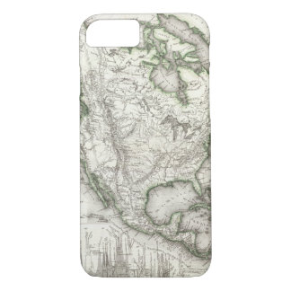 North American Rivers and Mountains iPhone 8/7 Case