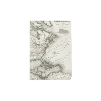 North American Rivers and Mountains Passport Holder