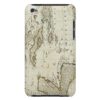 North America's new map iPod Touch Case-Mate Case