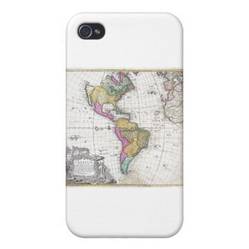 North And South America iPhone 4 Covers