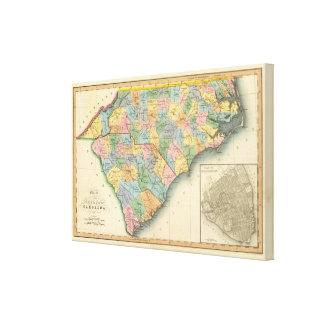 North and South Carolina 4 Canvas Print