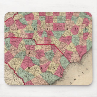 North and South Carolina Mouse Pad