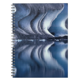 North Atlantic, Iceland, Breioamerkurjokull 2 Notebook