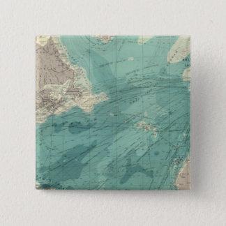 North Atlantic Ocean 15 Cm Square Badge