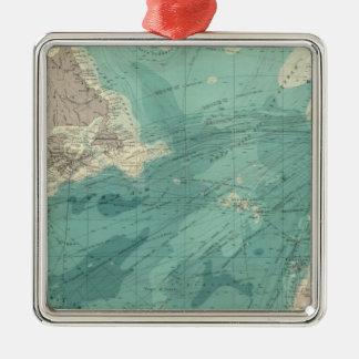 North Atlantic Ocean Christmas Ornament