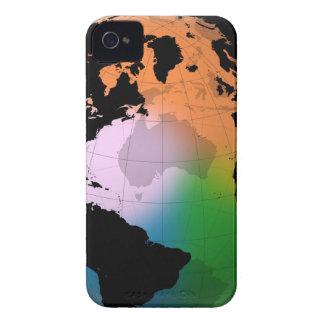 North Atlantic Ocean Current Map iPhone 4 Case-Mate Case