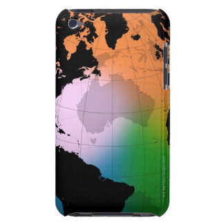 North Atlantic Ocean Current Map iPod Touch Case-Mate Case