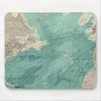 North Atlantic Ocean Mouse Mat