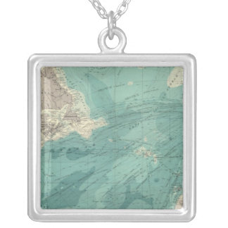 North Atlantic Ocean Silver Plated Necklace
