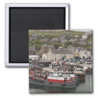 North Atlantic waterfront port of Stromness Magnet