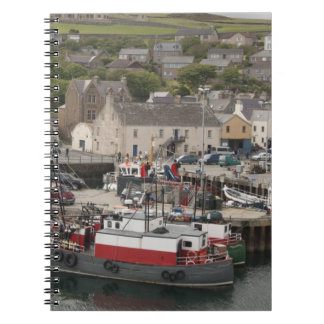 North Atlantic waterfront port of Stromness Note Books