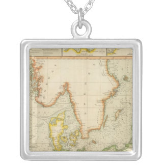 North, Baltic seas Silver Plated Necklace