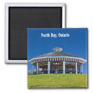 North Bay Carousel Magnet