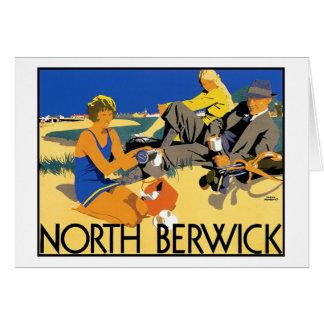 North Berwick Beach Card
