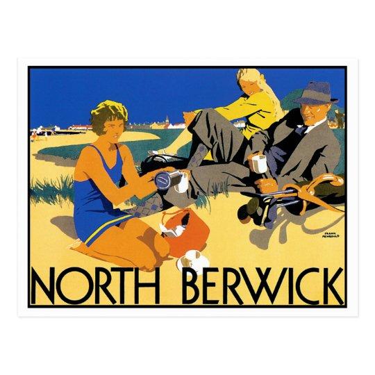 North Berwick Beach Postcard