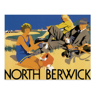 North Berwick Postcard