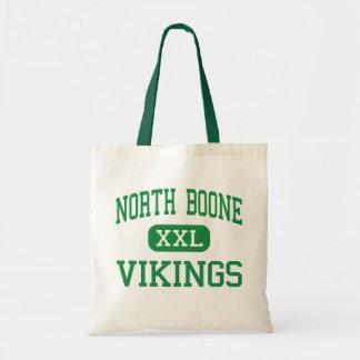 North Boone - Vikings - High - Poplar Grove Budget Tote Bag