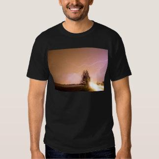 North Boulder County Colorado Lightning Strike Tee Shirt