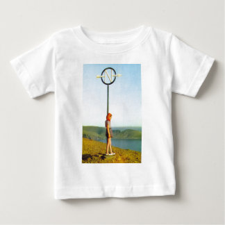 North Cape marker, Norway Baby T-Shirt