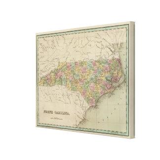 North Carolina 10 Canvas Print
