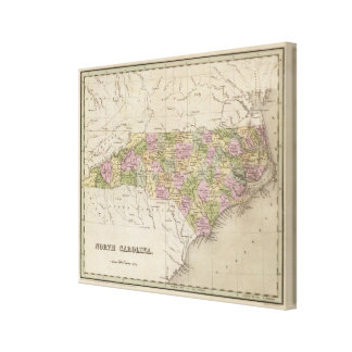 North Carolina 10 Canvas Print