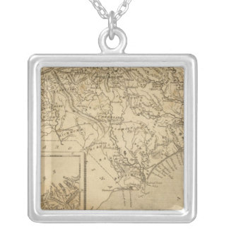 North Carolina 10 Silver Plated Necklace