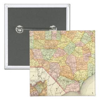 North Carolina 15 Cm Square Badge