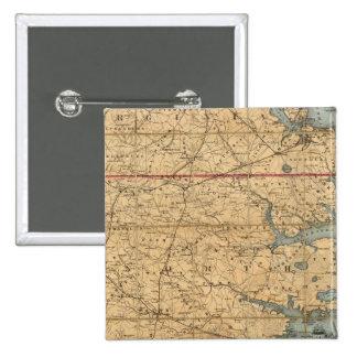 North Carolina 2 15 Cm Square Badge