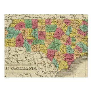 North Carolina 3 Postcard