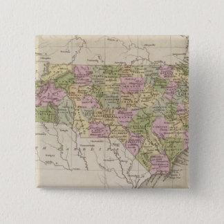North Carolina 4 15 Cm Square Badge